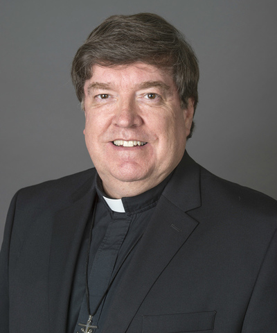 Fr. Jim Foster is the Director of the Center for Health Sciences Advising