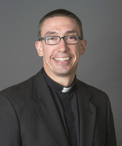 Fr. Pete McCormick is the Director of Campus Ministry