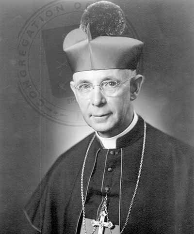 Rose to the rank of cardinal after serving Notre Dame as president in the 1930s. He expanded the school's science and philosophy curriculum.